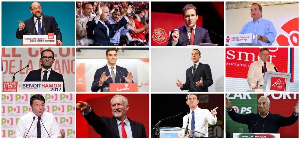 Sva lica evropske socijaldemokratije 2017 – 4 pravca razvoja