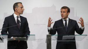 Kristijan Kern i Emanuel Makron (Reuters)