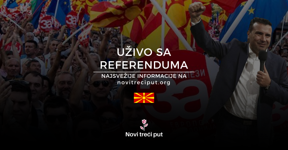 [BLOG UŽIVO] Referendum u Makedoniji