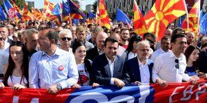 Zoran Zaev u referendumskoj kampanji (EPA-EFE)