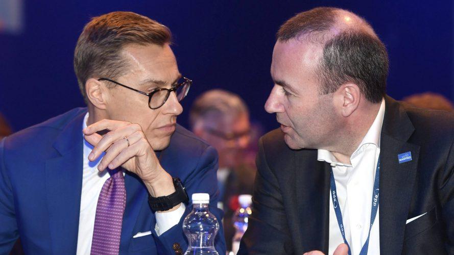 Aleksandar Stub i Manfred Veber (Reuters)