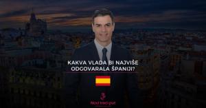 Kakva vlada bi najviše odgovarala Španiji?