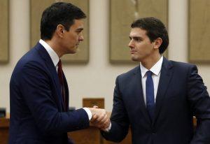 Pedro Sančez i Albert Rivera (Reuters)