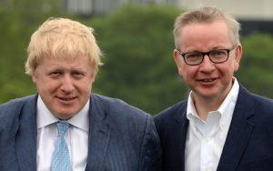 Boris Džonson i Majkl Gouv (The Telegraph)