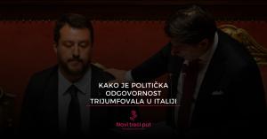 Kako je politička odgovornost trijumfovala u Italiji