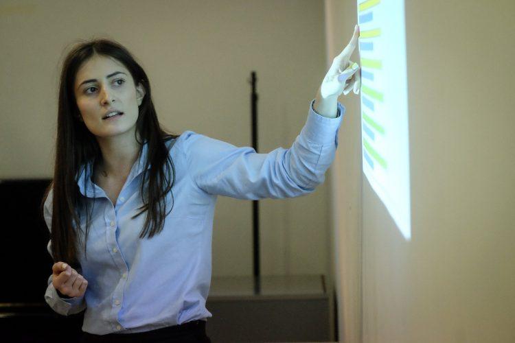 Prezentaciona konferencija Novog trećeg puta - Milja Radosavljević