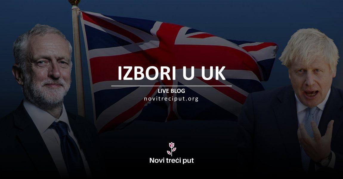 [BLOG UŽIVO] Izbori u UK