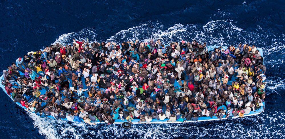 Migranti (Massimo Sestini)