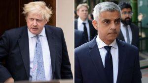 Boris Džonson i Sadik Kan (Sky News)
