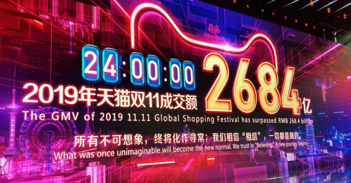 11.11. je simbol rastuće moći Kine