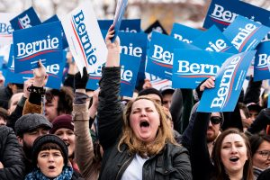 Sandersovi podržavaoci (The New York Times)