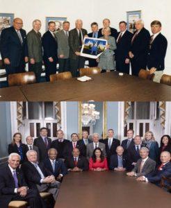 Plavi psi 1998. i 2018. (Blue Dog Coalition)