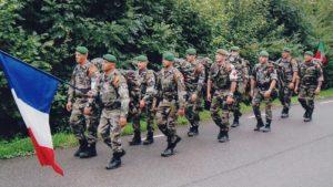 Pripadnici legije stranaca kod Librevila u Gabonu