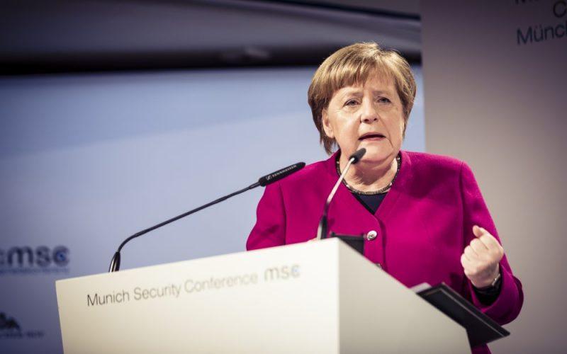 Angela Merkel govor