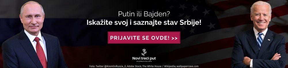 Reklama - Putin i Bajden