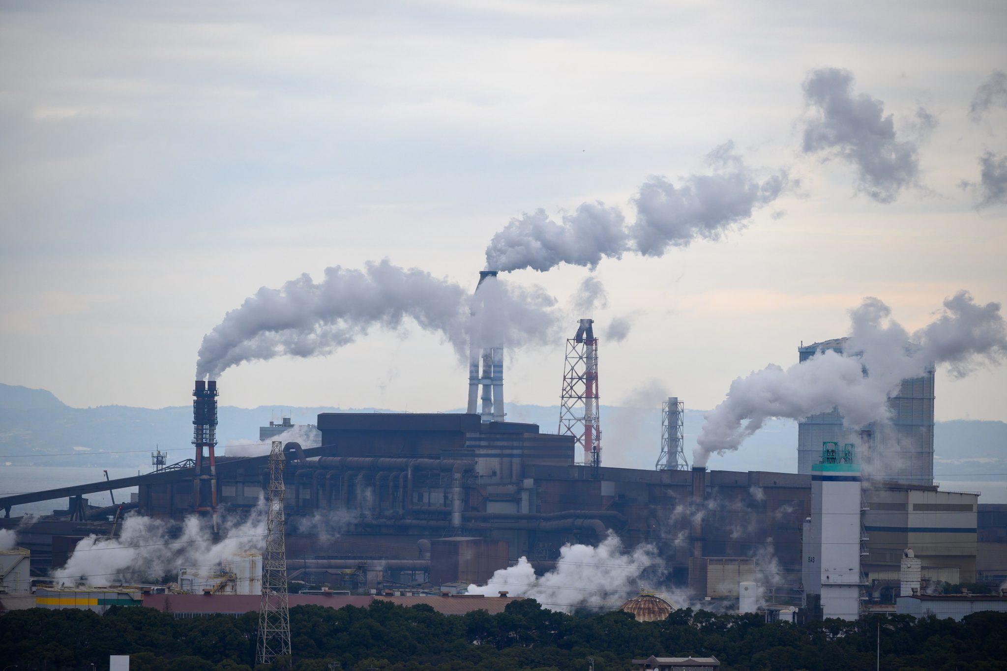 zagađenje - fotografija kouji tsuru
