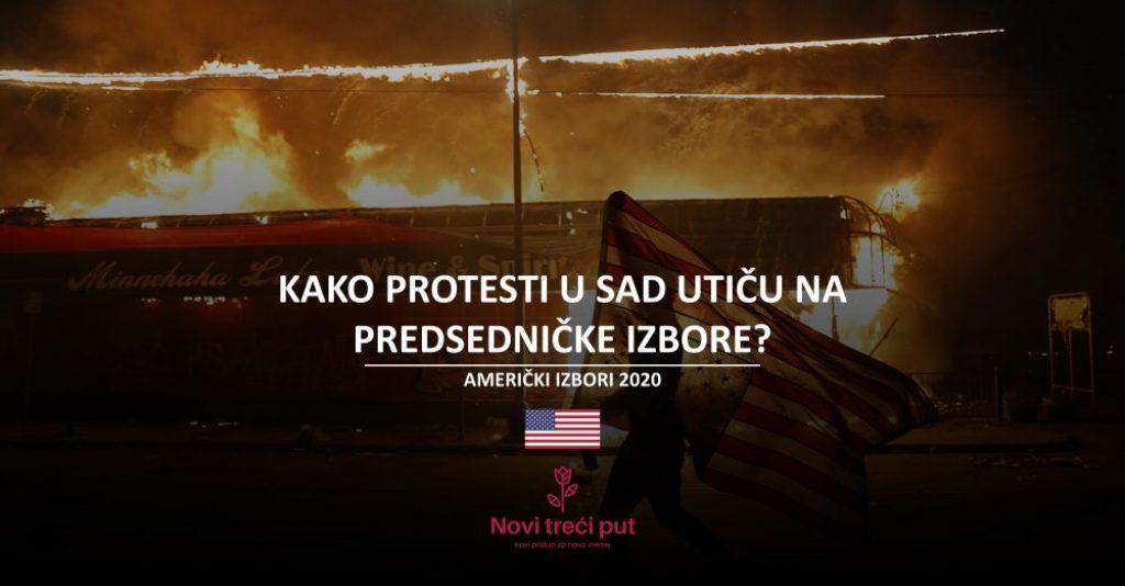 Kako protesti u SAD utiču na predsedničke izbore?